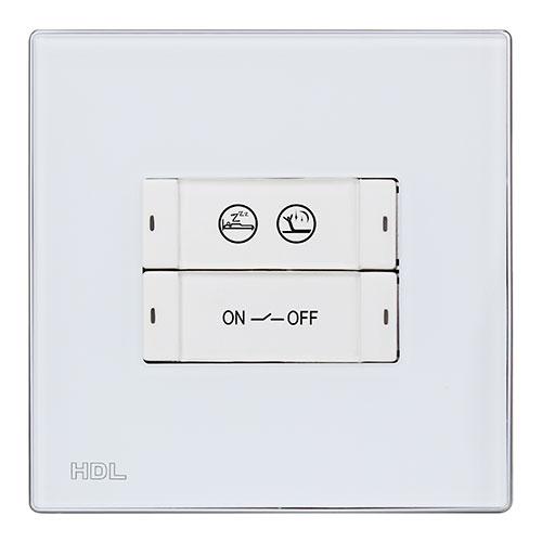 HDL河东智能家居智能面板按键状态灯亮度可调、随意设计MP2B.48