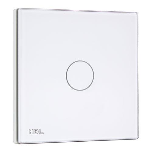 HDL河东智能家居触控面板背光亮度可调、标准暗盒安装MPT1.48