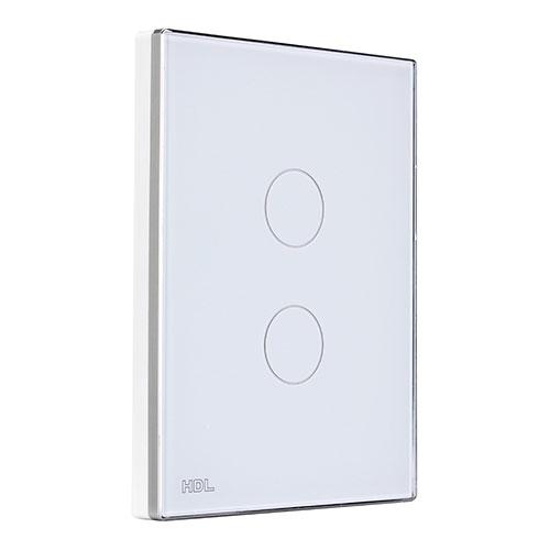 HDL河东智能家居触控面板(白)多功能控制面板、背光亮度可调MPT2.46