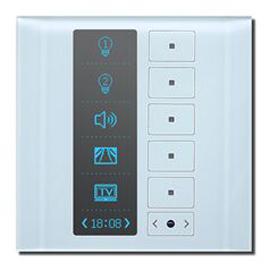 科力屋智能家居多功能触控面板(OLED型)