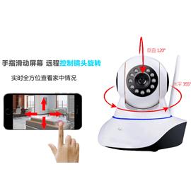 奥维特智能家居智能摄像猫全时双向通话、手机远程控制