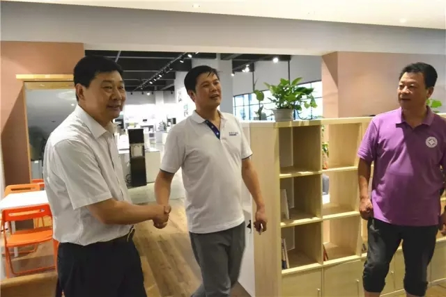 安徽省政协、省工商联、工商导报领导调研扬子产业园,并对扬子净水和扬子智能家居工作的肯定<br>