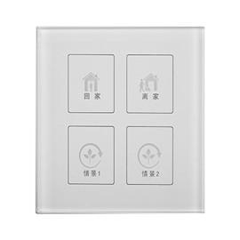TaiChuan太川智能家居无线触控式情景面板玻璃面板、触摸按键TC-U9QJ