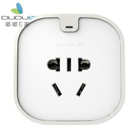 DUDU嘟嘟E家智能家居智能插座USB充电接口、进口PC阻燃原料DD-SSt-C
