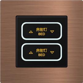 天奥智能家居LED开关金属质感、尽享尊贵