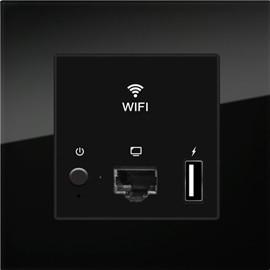 天奥智能家居天奥无线AP 覆盖—面板式WIFI主机网关、智能家居系统
