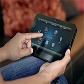 Control4智能家居MyHome app提供了新的app运行、图标为红色