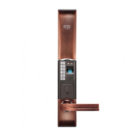 八佰智能锁指纹密码门锁电池低电提醒、断电后有记忆功能WATCHDOG D1816F