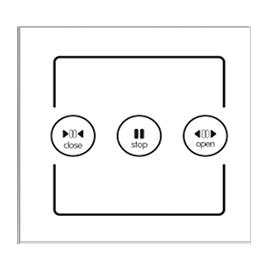 智家云控灯光控制器实现双联双控制功能、无死角覆盖TY-CL1B01A