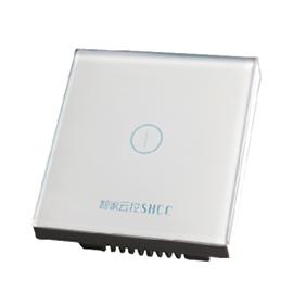 智家云控一位灯光控制器无死角覆盖、防火ABS材料TY-KG1B01A