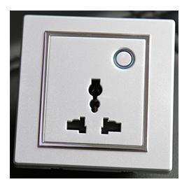 智家云控智能豪华型插座防火ABS材料,标准86盒TY-CZ02