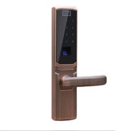 Tint天智智能家居家庭智能锁采用电容式触摸屏数字面板、STY09多方位天地锁体TZF5