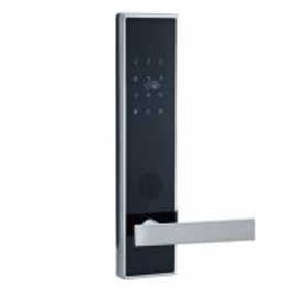 Tint天智智能家居家庭智能锁采用电容式触摸屏数字面板、STY09多方位天地锁体TZMK-C1
