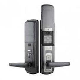 Tint天智智能家居家庭智能锁全程OLED显示屏、STY09多方位天地锁体TZMK-F1