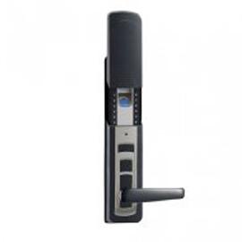 Tint天智智能家居家庭智能锁采用电容式触摸屏数字面板、STY09多方位天地锁体TZMZ-F1