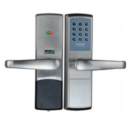 Tint天智智能家居家庭智能锁全程OLED显示屏、STY09多方位天地锁体TZMK-E1