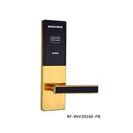 英诺维智能感应锁隐藏式机械钥匙、亚克力面板RF-INV2016E-PB