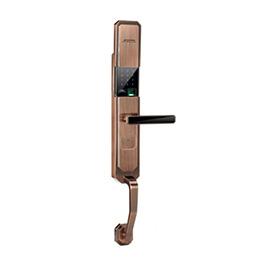 久邦智能锁防盗门智能锁锌合金材质、红古铜JB-8090
