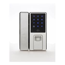 中国结智能锁玻璃门指纹锁触屏智能、超高性价比CK802A