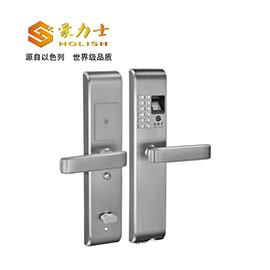 豪力士智能锁智能指纹锁互换性极强、不锈钢材质L1818F