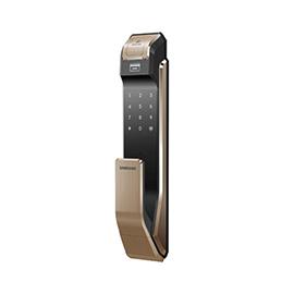 Samsung智能锁三星指纹锁活体指纹识别、智能感应SHS-P718