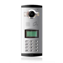 求实智能家居彩色模拟单元机中文LCD显示、远程、密码开锁DYC-A1