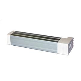 卓居智能家居方形电机(白)百搭的银色铝合金、支持软启动ZJZN-01