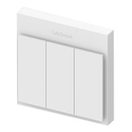 LifeSmart流光开关带有1600万色的LED灯珠、多路适配HZYQ-02