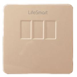 LifeSmart入墙式开关支持双向通信、手机远程控制HZYQ-08
