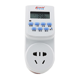 金科德计时定时开关插座专利拨片设计、液晶屏显示JKD-06