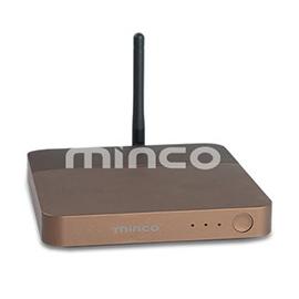 minco明科智能家居中控智能主机(路由型)集成安防控制、背景音乐控制功能MK-CZ-3801R