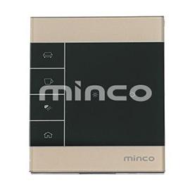 minco明科智能家居一路零火触摸开关本地控制、APP控制、场景控制MK-LZ-3101N