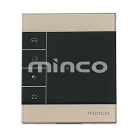 minco明科智能家居一路单火触摸开关本地控制、APP控制、场景控制MK-LZ-3101S