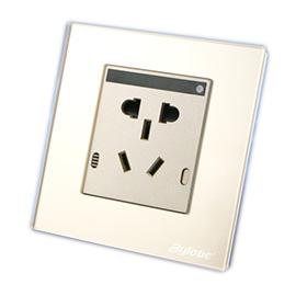 百络优智能家居智能墙壁插座实现远程操控、防火耐高温