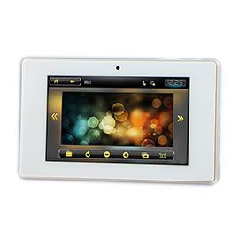 百络优智能家居背景音乐面板电容屏触摸方式、可以设置多个场景模式BLY-MAN11