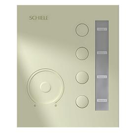SCHIELE施勒智能家居灯光控制终端(金)开关控制、调光控制SLZN-05