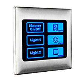 SAVEKEY思万奇智能家居开关触摸屏多屏联机、触摸屏控制SWQ-01