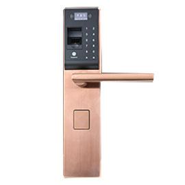 孚顿智控智能家居指纹密码智能锁360°全方位解锁、耗时仅0.5秒SFT100