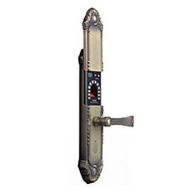 亚太天能智能锁F系列指纹锁通过使用蓝牙无线连接、手机直接快速通讯F3160E
