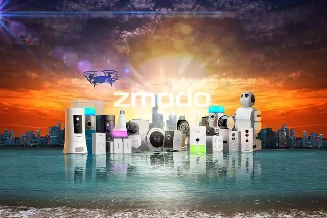 Zmodo智美达携全新智能系列产品亮相2017CES展会