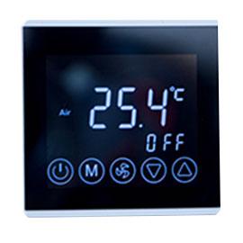 ethome智家智能家居空调面板液晶触控面板、定时控制、联动控制XW-06