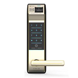 宜控联盟指纹密码智能门锁H-2190ZB