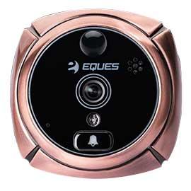 EQUES移康门铃猫眼宙斯盾B采用触控技术、3.7英寸高清高亮液晶触摸屏R12B