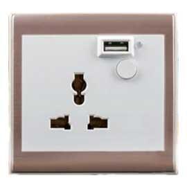 WODSEE沃视智能墙面安全插座MLK-ZWK1