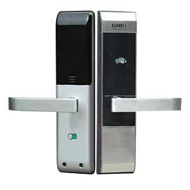 高利智能感应卡门锁锌合金+不锈钢材质、具有防窥视功能GI AD2-T 327
