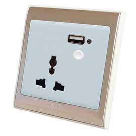 果谷智能墙面插座GG-09