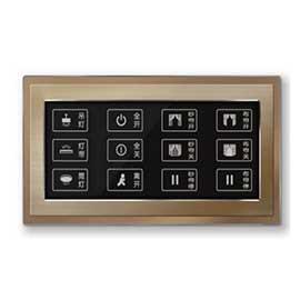 星网锐捷双联触控开关面板电阻触摸屏、12个触摸按键SNS-L3680