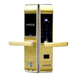 扬子智能家居智能密码指纹锁高强度合金外壳、LED显示YZ-ZMS1B