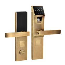 荟学智能型指纹门锁钥匙开锁蓝光识别指纹技术、APP远程控制HX-04