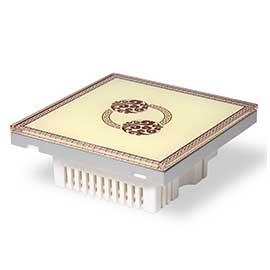 Z-ENJOY智畅智能家居中式智能开关面板 无线远程控制/单路触控面板可ZC-MBG02